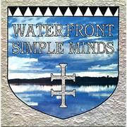 "Simple Minds Waterfront UK 7"" vinyl"