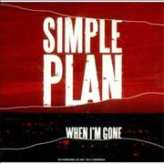 Click here for more info about 'Simple Plan - When I'm Gone'