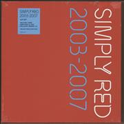 Click here for more info about 'Simply Red - 2003-2007 - 180gm Red vinyl box - Sealed'