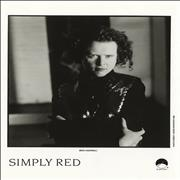 Click here for more info about 'Simply Red - A New Flame - Mick Photo'