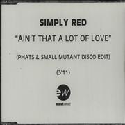Click here for more info about 'Simply Red - Ain't That A Lot Of Love - Phats & Small Mutant Disco'