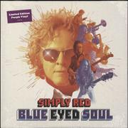 Click here for more info about 'Simply Red - Blue Eyed Soul - Purple Vinyl - Sealed'