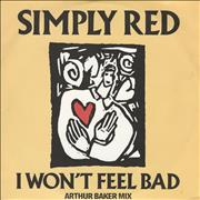 Click here for more info about 'Simply Red - I Won't Feel Bad - Arthur Baker'