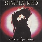 Click here for more info about 'Simply Red - It's Only Love'
