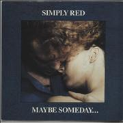 Click here for more info about 'Simply Red - Maybe Someday...'