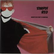 Click here for more info about 'Simply Red - Money's Too Tight (To Mention) - Injection + Die-Cut'