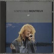 Simply Red Montreux EP UK CD single Promo