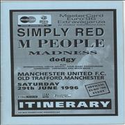 Click here for more info about 'Simply Red - Old Trafford, Manchester 1996'