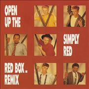 Click here for more info about 'Simply Red - Open Up The Red Box - Fold Out Pack'