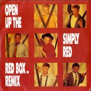 Click here for more info about 'Simply Red - Open Up The Red Box - Remix'