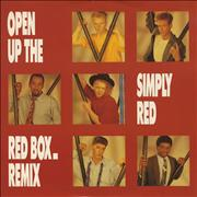 Click here for more info about 'Simply Red - Open Up The Red Box'