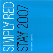 Click here for more info about 'Simply Red - Stay 2007 - Live At The Royal Albert Hall'