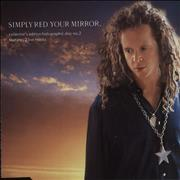 Simply Red Your Mirror - Studio UK CD single