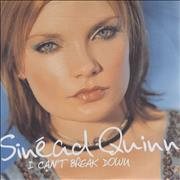 Click here for more info about 'Sinead Quinn - I Can't Break Down'