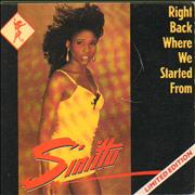 Click here for more info about 'Sinitta - Right Back Where We Started From'
