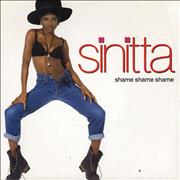 Click here for more info about 'Sinitta - Shame Shame Shame'