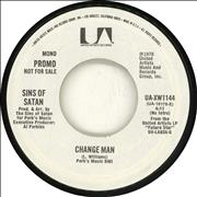 Click here for more info about 'Sins Of Satan - Change Man - White label'
