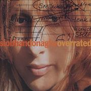 Click here for more info about 'Siobhan Donaghy - Overrated - CD sleeve'