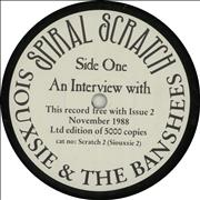 Click here for more info about 'Siouxsie & The Banshees - An Interview With Siouxsie & The Banshees'