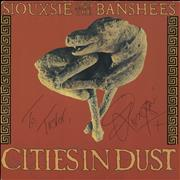 Click here for more info about 'Siouxsie & The Banshees - Cities In Dust - Autographed'