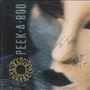 Click here for more info about 'Peek-A-Boo - Autographed'