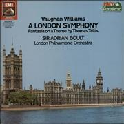 Click here for more info about 'Ralph Vaughan Williams - A London Symphony / Fantasia On A Theme By Thomas Tallis'