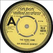 Click here for more info about 'Sir Douglas Quintet - The Rains Came - 'A' label'