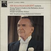 Click here for more info about 'Sir Malcolm Sargent - Young Person's Guide To The Orchestra / Facade / Simple Symphony'