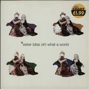 Click here for more info about 'Sister Bliss - Oh! What A World'