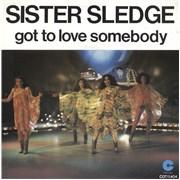 "Sister Sledge Got To Love Somebody Netherlands 7"" vinyl"