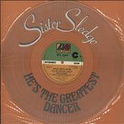 Click here for more info about 'Sister Sledge - He's The Greatest Dancer - Clear Vinyl'