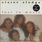 Click here for more info about 'Sister Sledge - Lost In Music - Stickered sleeve'