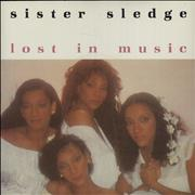 Click here for more info about 'Sister Sledge - Lost In Music'