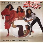 """Sister Sledge We Are Family - Atlantic UK 7"""" vinyl"""