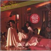 Sister Sledge We Are Family - Hype stickered opened shrink USA vinyl LP
