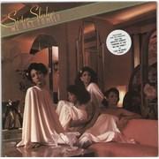 Sister Sledge We Are Family - Hype-stickered UK vinyl LP