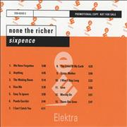 Click here for more info about 'Sixpence None The Richer - Sixpence None The Richer'