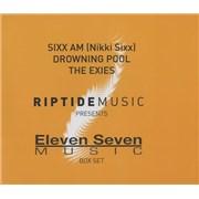 Sixx:AM Eleven Seven Box Set USA cd album box set Promo