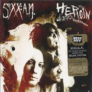 Sixx:AM The Heroin Diaries Soundtrack - Best Buy USA 2-CD album set