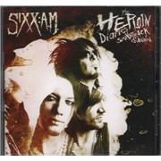 Sixx:AM The Heroin Diaries Soundtrack USA CD album Promo