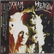 Sixx:AM The Heroin Diaries Soundtrack Japan 2-disc CD/DVD set