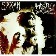 Sixx:AM The Heroin Diaries Soundtrack USA press kit Promo
