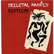 """Skeletal Family Restless UK 7"""" vinyl"""