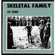 "Skeletal Family So Sure UK 7"" vinyl"
