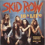 Click here for more info about 'Skid Row (80s) - 18 & Life'
