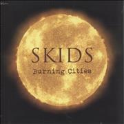 Click here for more info about 'Skids - Burning Cities - Red Vinyl + Sealed'