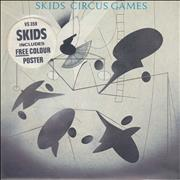 Click here for more info about 'Skids - Circus Games + Poster'