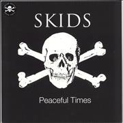 Click here for more info about 'Skids - Peaceful Times - White Vinyl'