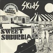 Click here for more info about 'Skids - Sweet Suburbia - P/S - White Vinyl'