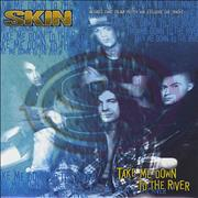 Click here for more info about 'Skin [Rock] - Take Me Down To The River - Poster Sleeve'